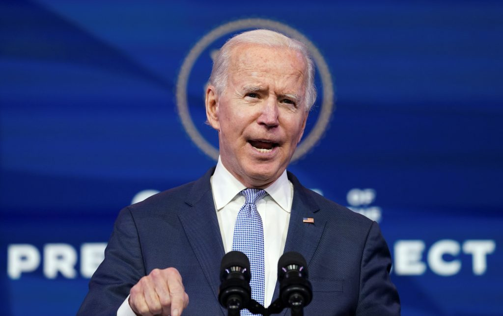 Ukraine counting on Biden's support in struggle against Russian authoritarianism