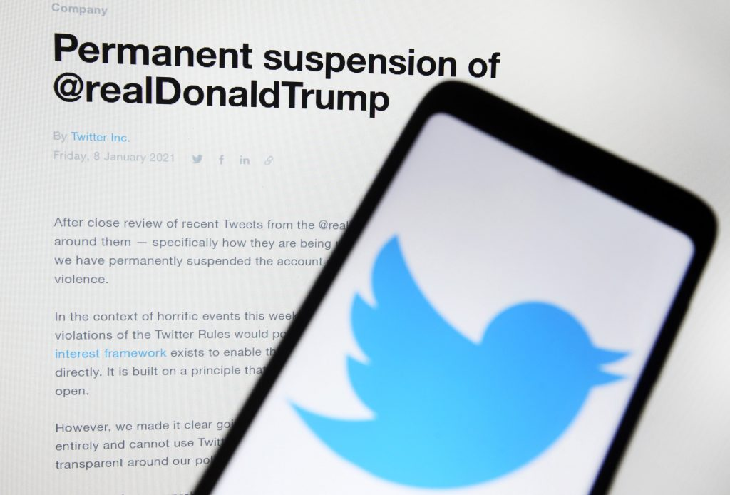 Ukraine raised the alarm over weaponized social media long before Trump's twitter ban