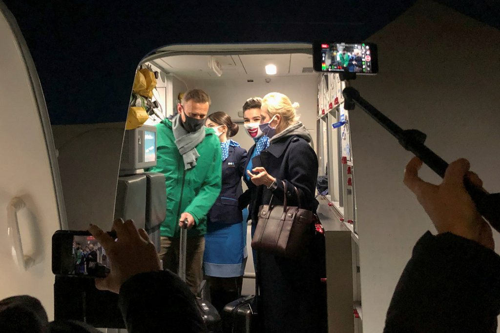 Navalny's arrest is Biden's first big test. Here's how he can pass it.