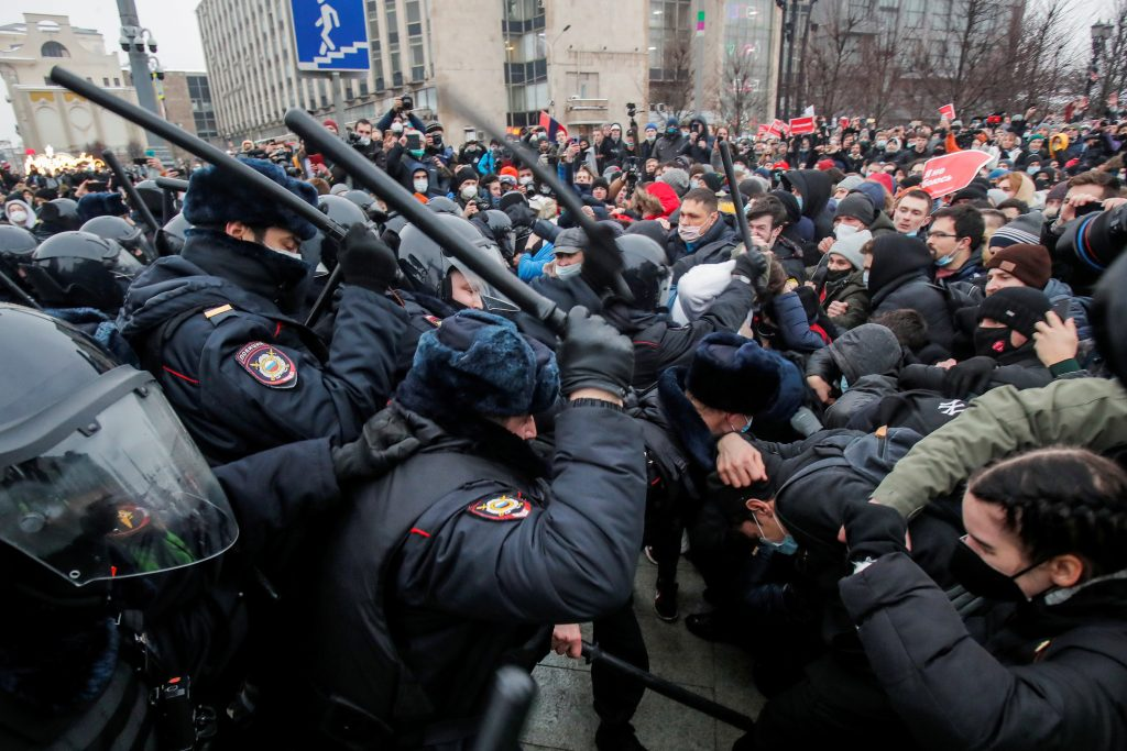 Russia's Navalny protests provoke mixed emotions in Ukraine