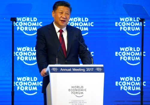 Xi Jinping at the virtual Davos: Multilateralism with Chinese characteristics