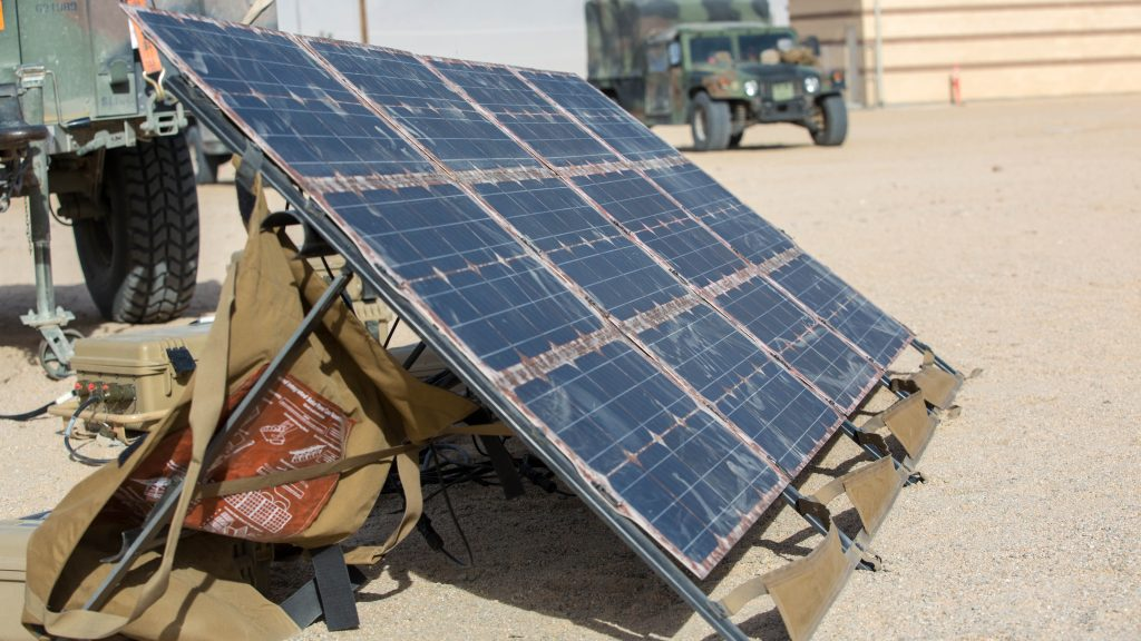 A clean energy agenda for the US Department of Defense