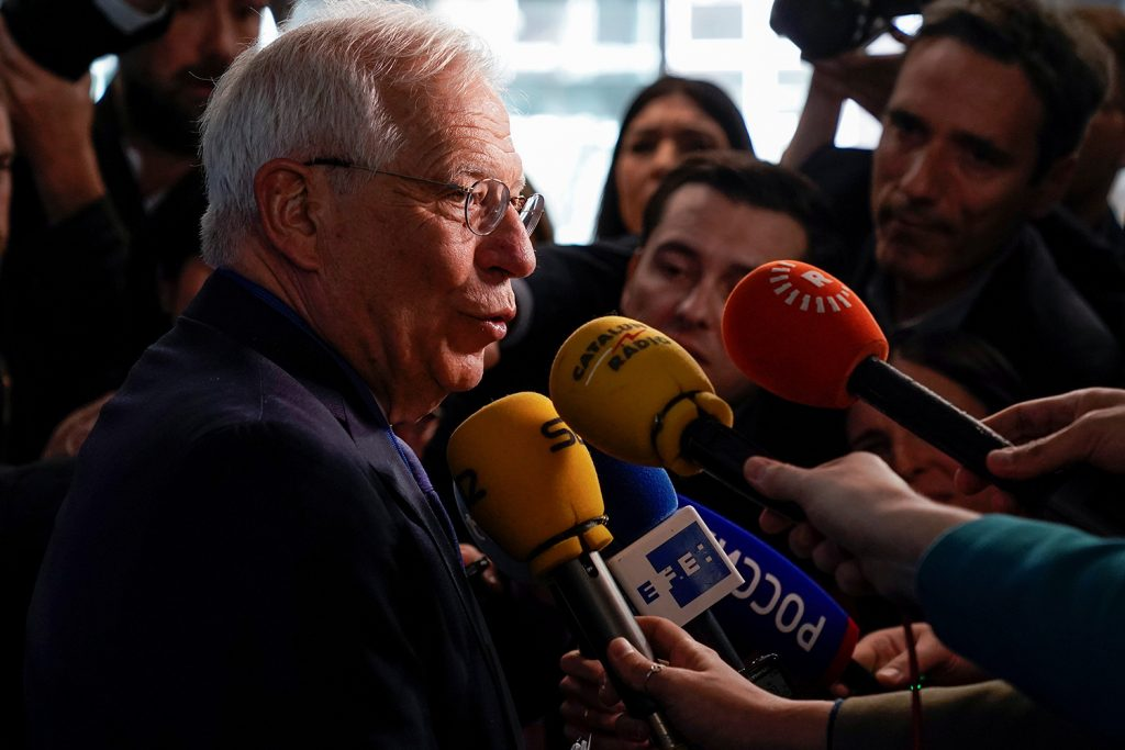 Josep Borrell outlines the EU's priorities in a multipolar world