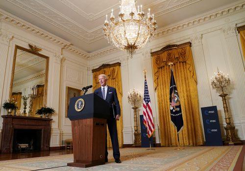 Biden is building a doctrine around democracy. Will it work?