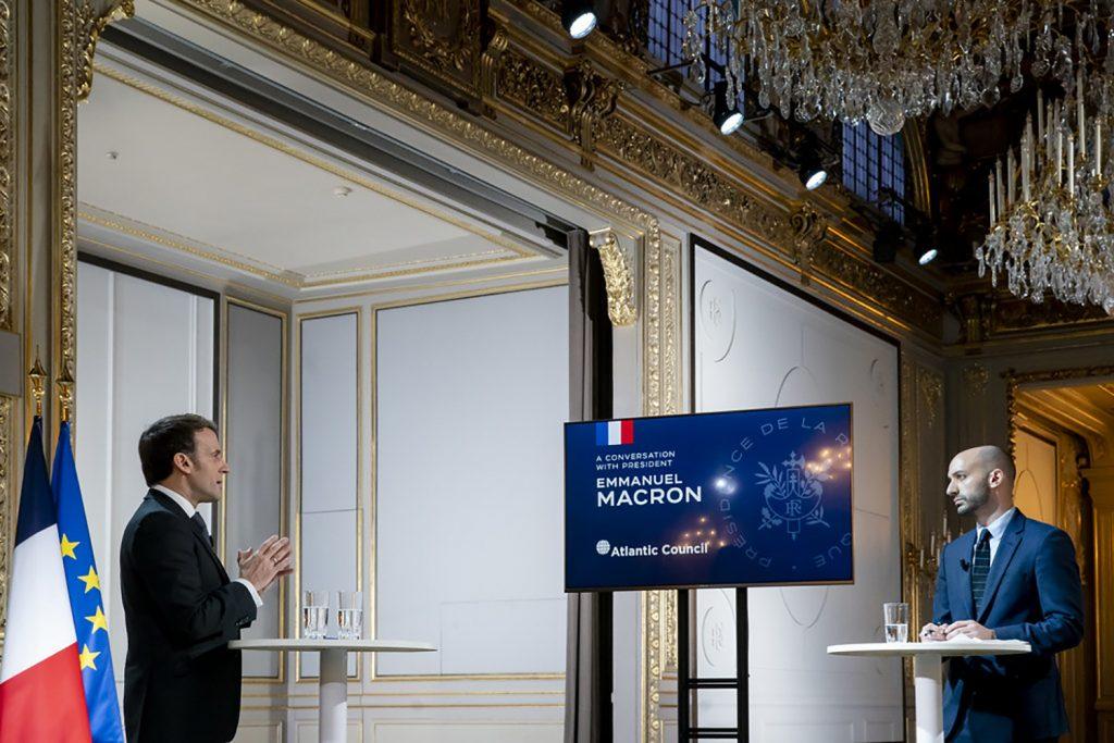 Emmanuel Macron's plan to rebuild US-Europe relations
