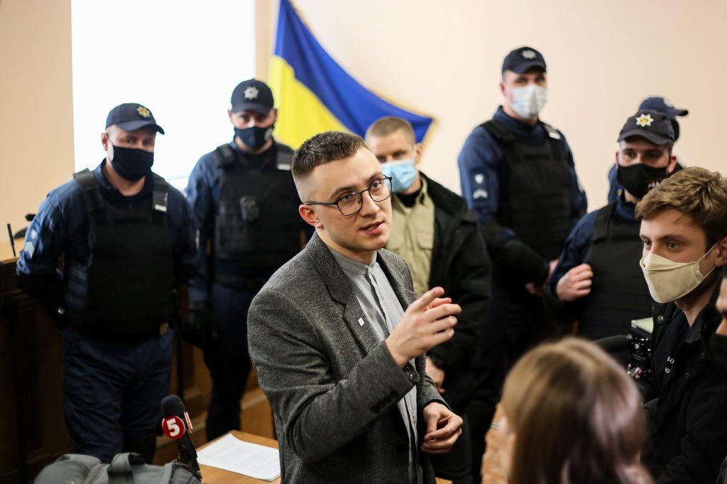 "Ukrainians protest ""political justice"" over activist jailing"
