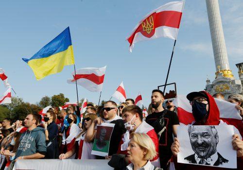 Ukraine bans Belarus flights over Lukashenka's air piracy