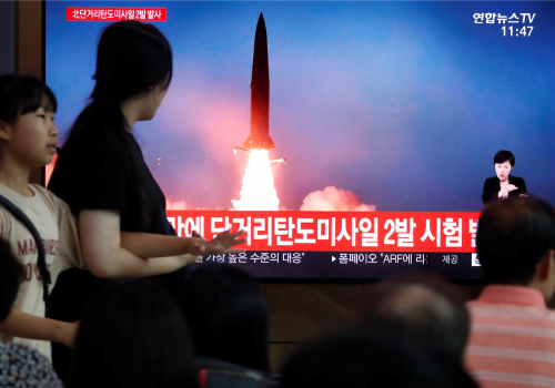 FAST THINKING: North Korean missiles are back