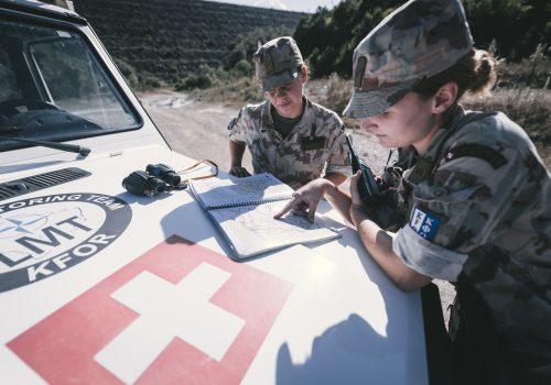 Women in Swiss security