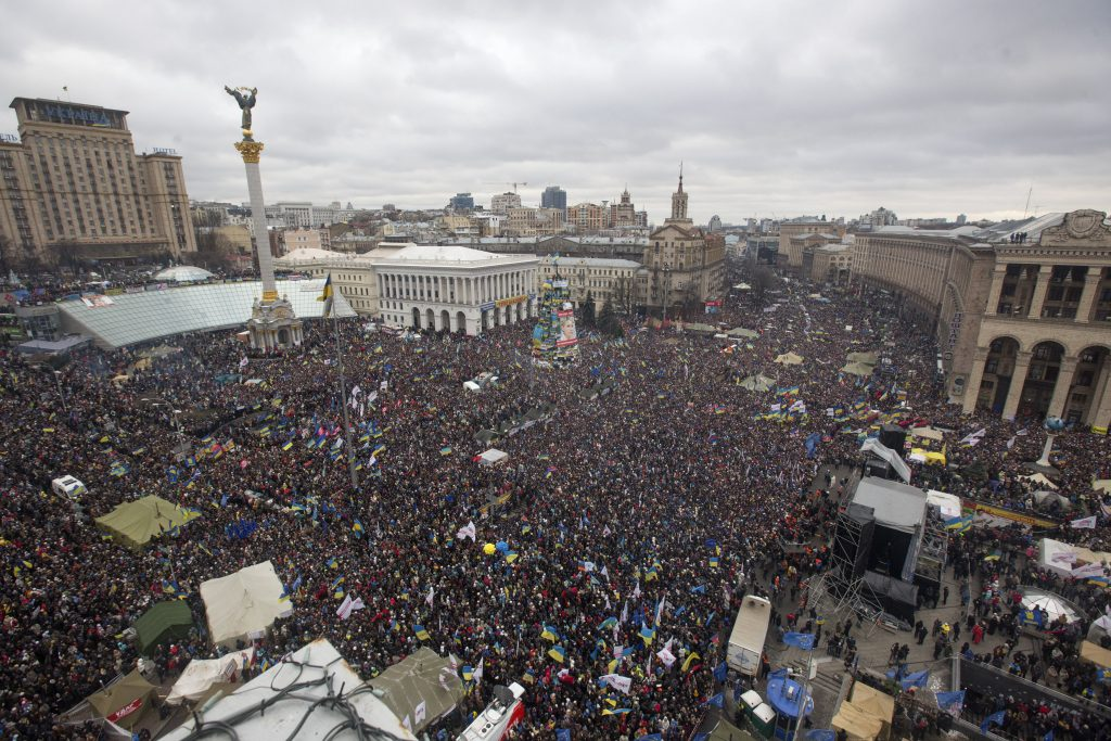 Ukraine's nation-building journey and the legacy of the Euromaidan Revolution