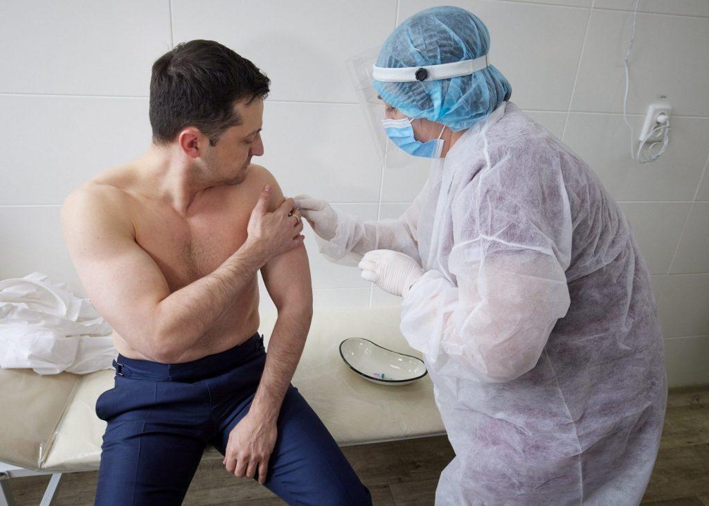 Ukraine fails vaccine test