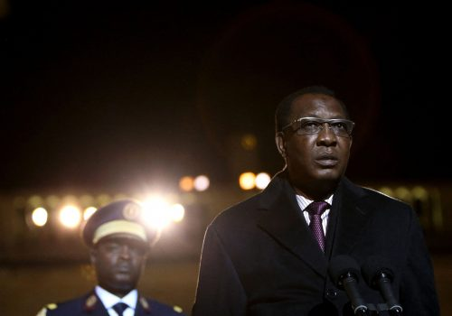 Washington's role and responsibility in Chad