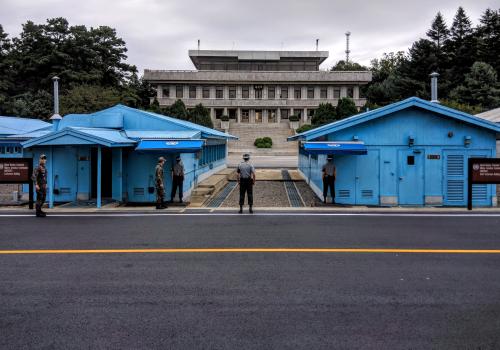 Korean DMZ Joint Security Area