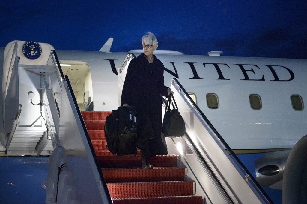 Wendy Sherman on the Iran nuclear talks, multilateral cooperation, and transatlantic data flows