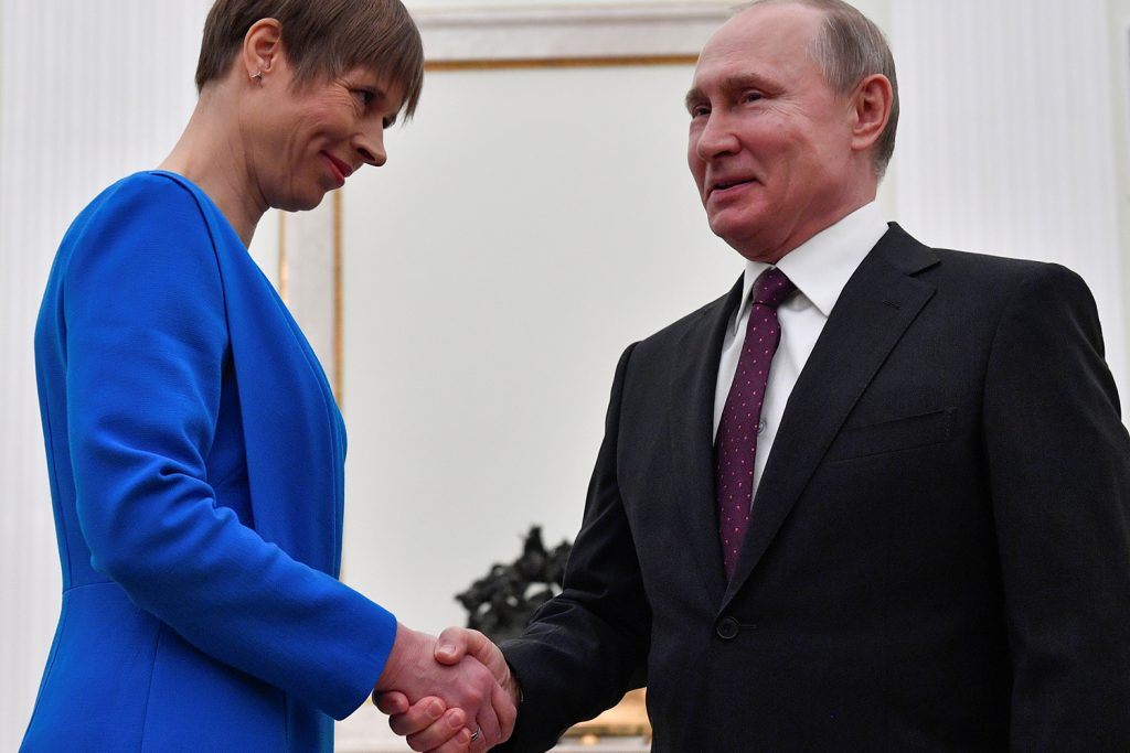 Estonian President Kaljulaid and US Senator Shaheen on challenges from Moscow and the future of Nord Stream 2