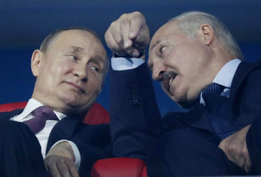 Belarus sanctions: Time to target Russia?