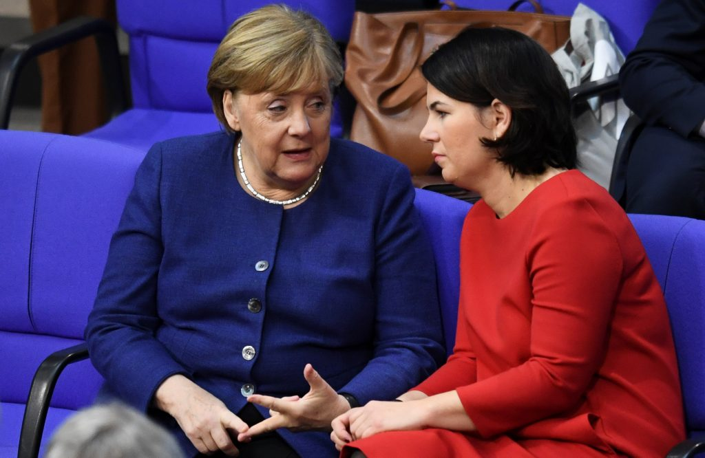 A Green chancellor (yes, a Green chancellor) will keep Germany and Europe safe