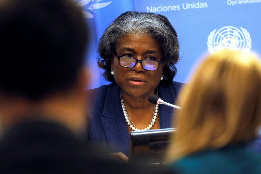 Linda Thomas-Greenfield on Africa's most overlooked crises and opportunities