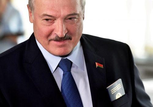 FAST THINKING: Europe strikes back at Belarus