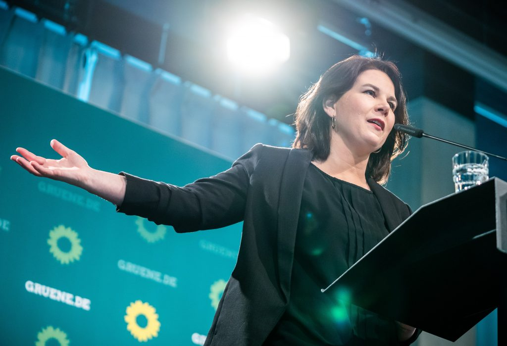 Annalena Baerbock's message to America: She's in sync with Biden