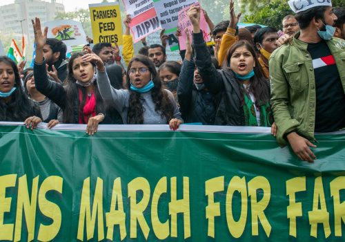 Famers March in India