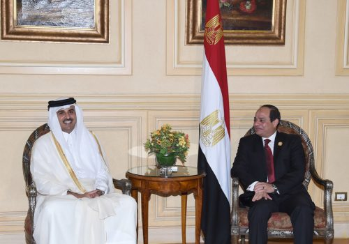 Qatar and Egypt are letting bygones be bygones
