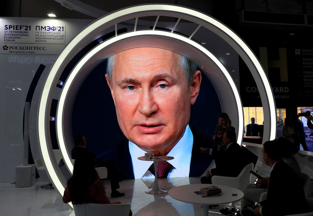 Geopolitical weapon: Putin's pipeline nears completion