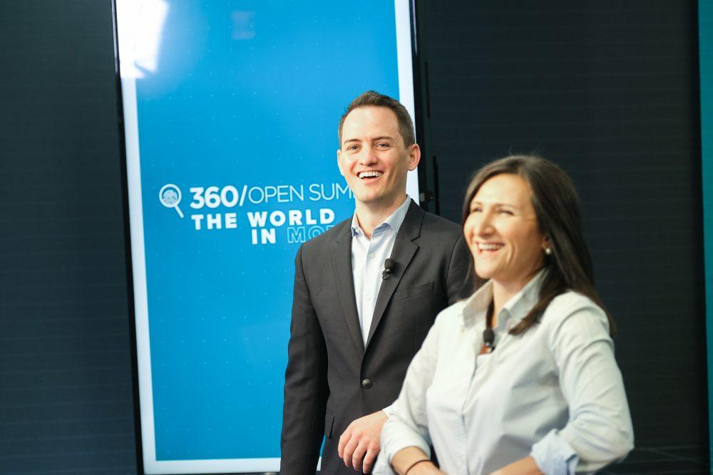 Rose Jackson and Graham Brookie at 360 OS 2021