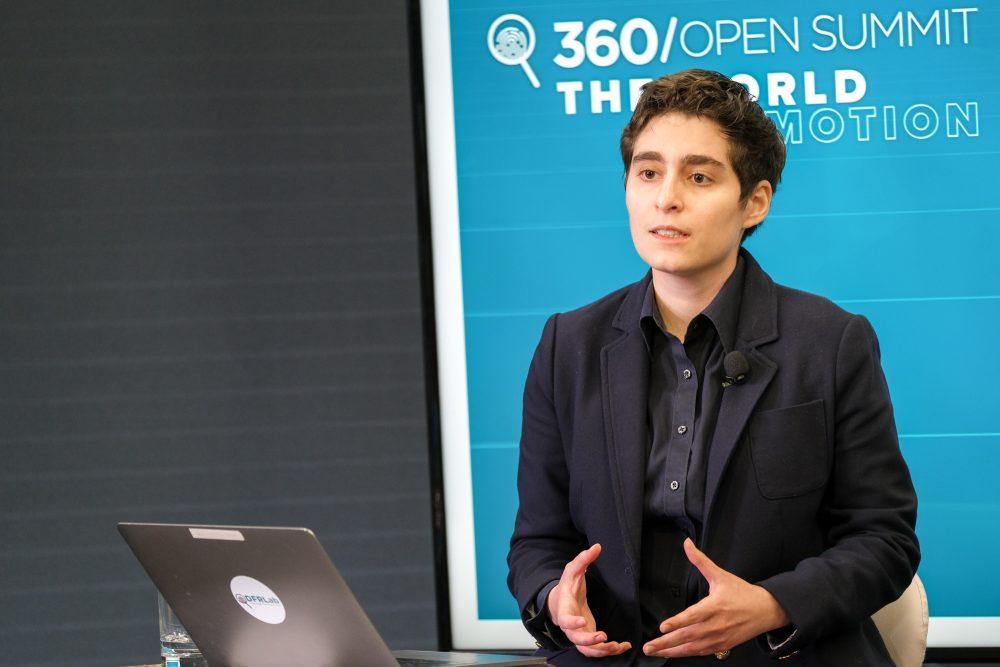 Zarine Kharazian at 360 OS 2021