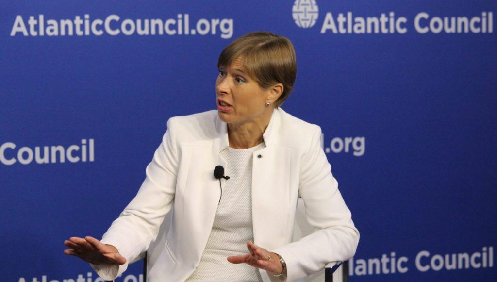 Estonian President Kersti Kaljulaid on combating digital threats with 'trusted connectivity'