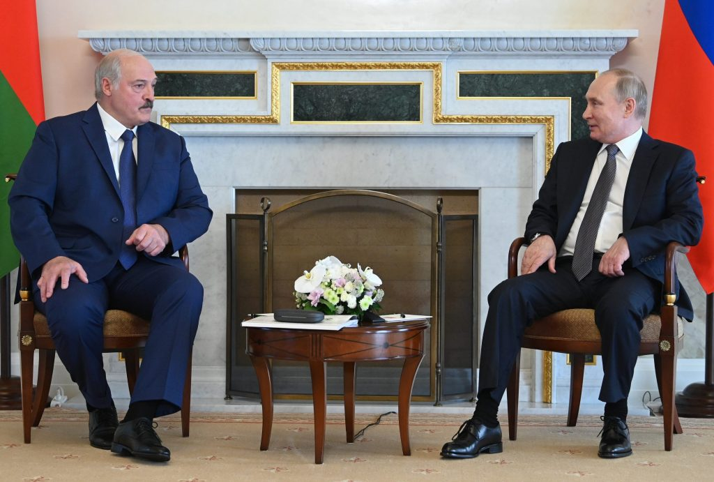 Putin and Lukashenka are locked in a dysfunctional axis of autocrats