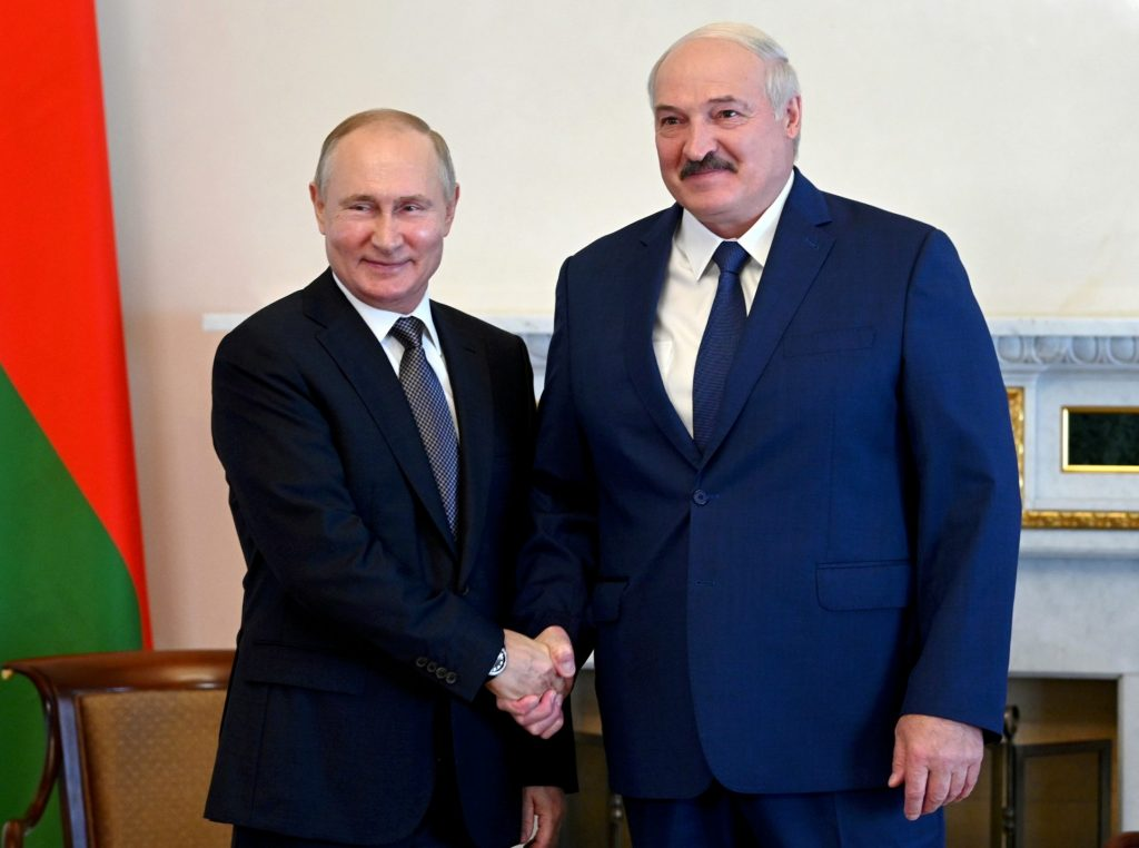 Lukashenka goes all in with Putin