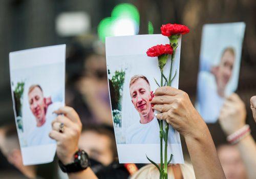 Dictator vs democracy: Belarus one year on