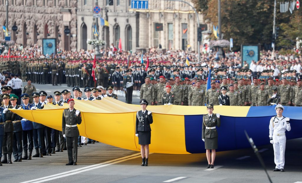 Looking back at the events that defined three decades of Ukrainian independence