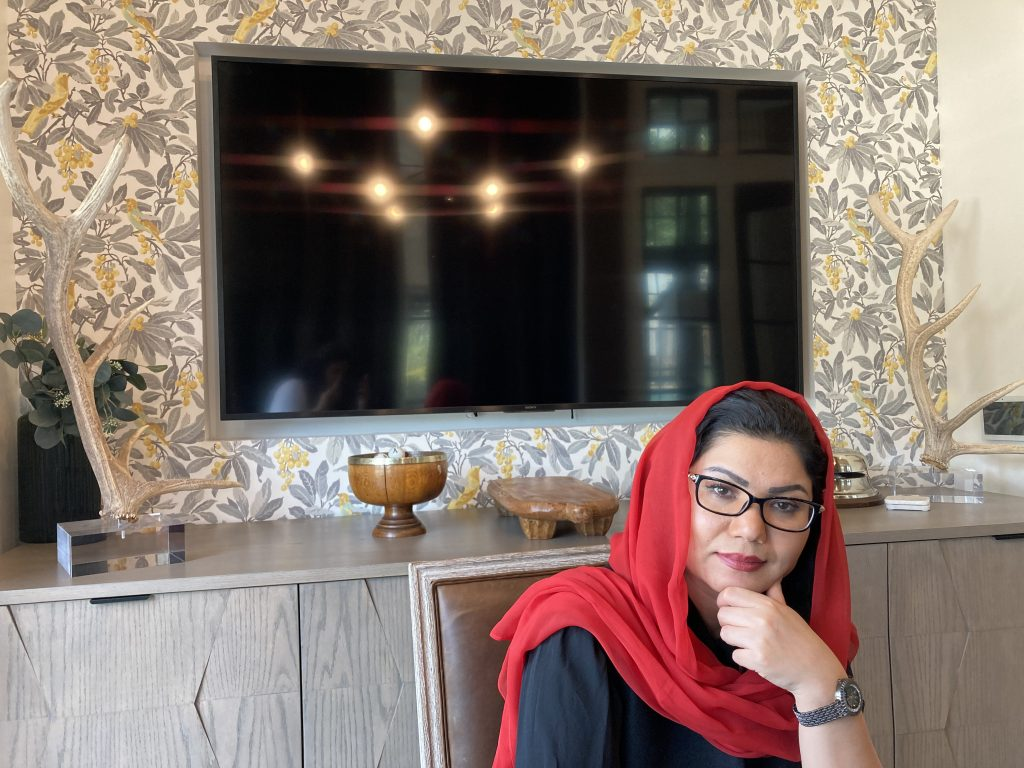 Interview with Munira Yousefzada, former Afghan deputy minister of defense