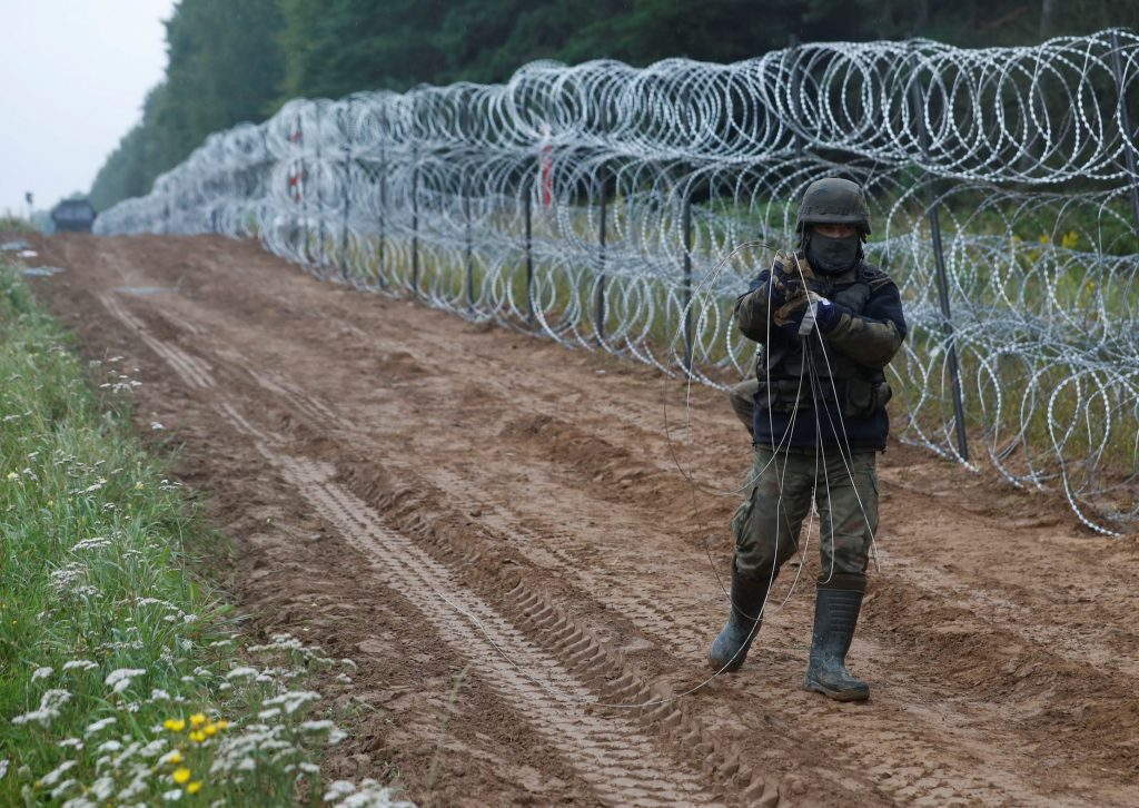 Belarus and Europe's new Iron Curtain