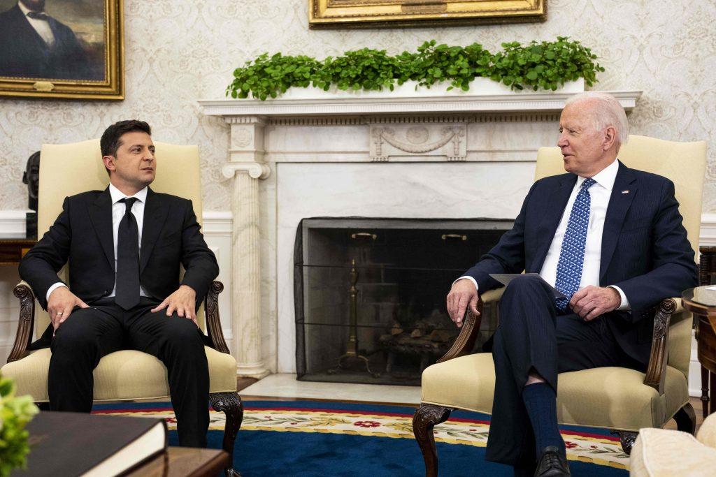 Biden and Zelenskyy get US-Ukraine ties back on track