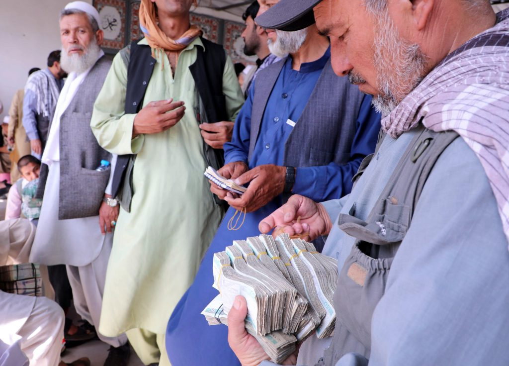 Afghanistan's ex-central bank chief: The Taliban has money to 'run an insurgency but not a government'