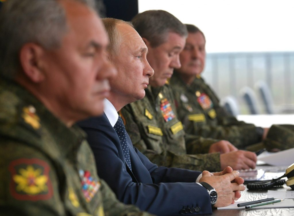 Vladimir Putin accused of weaponizing Russian gas