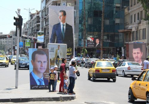 Syria after the fall of Kabul: A European perspective