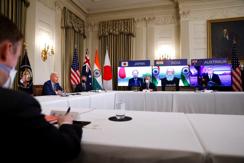 Experts react: The September 2021 White House QUAD meeting