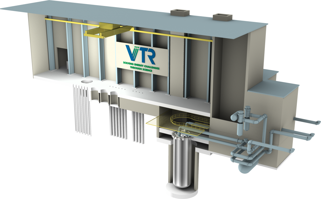 The VTR will play a key role in the nuclear energy innovation ecosystem