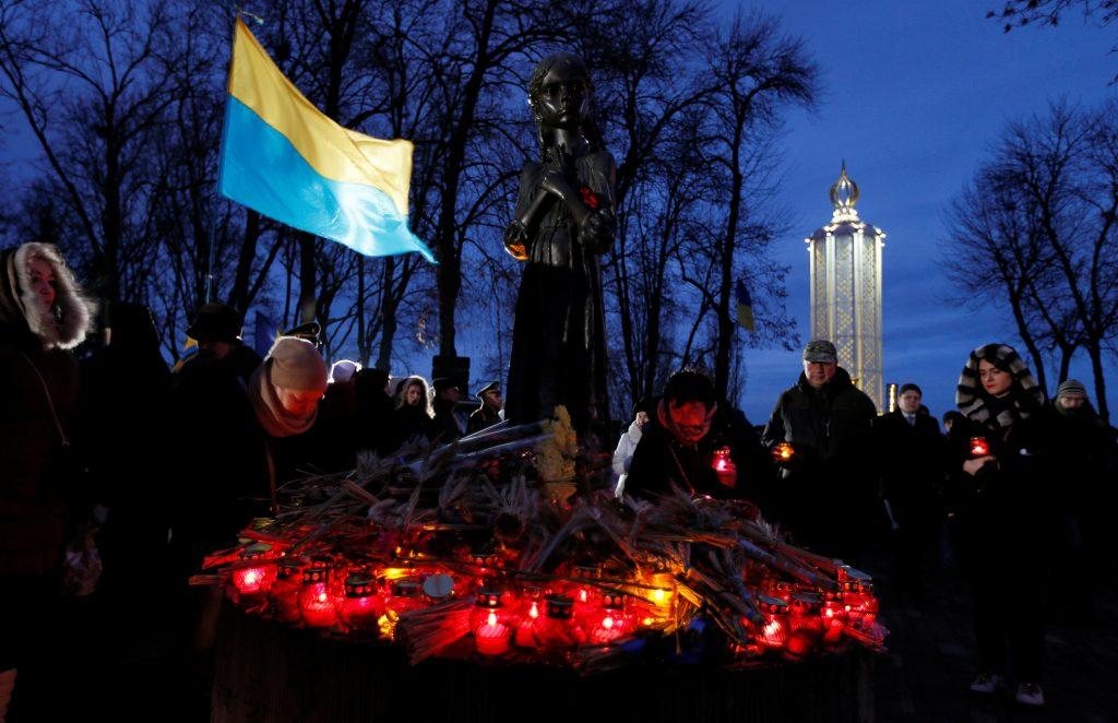 Ukraine seeks peace with the past