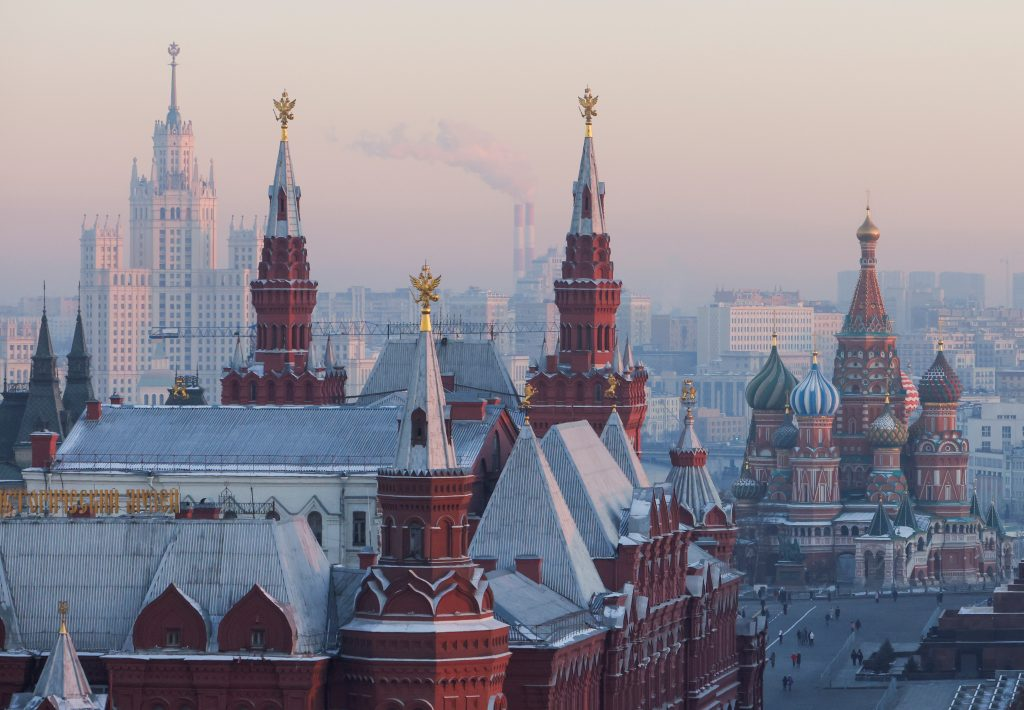 Russia is the world's leading exporter of instability