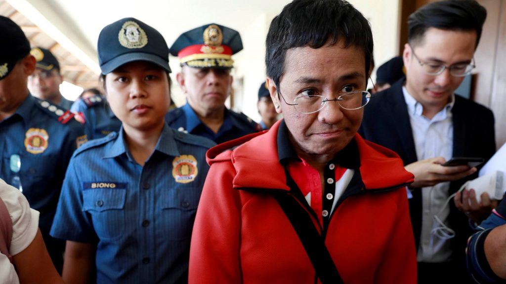 When Nobel Peace Prize winner Maria Ressa appeared at the Atlantic Council